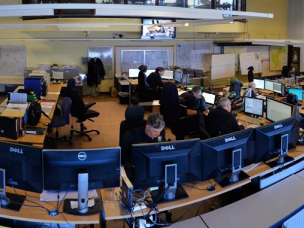 centrale d'urgence 112 de Bruxelles