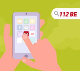 app 112BE l'app qui sauve des vies